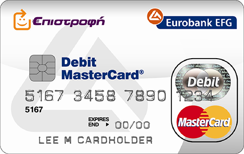 eurobank debit card